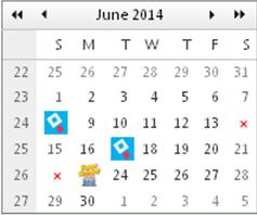 Calendar day templates ui control for asp ajax c vb asp calendar template dayg saigontimesfo