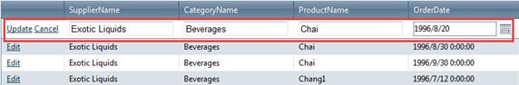 Grid View Edit Mode guide, UI Control for ASP NET AJAX, C#, VB NET